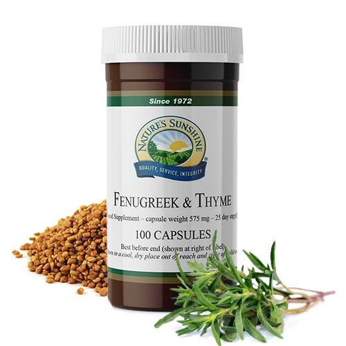 fanugreek-thyme-nsp-natures-sunshine-products-bulgaria